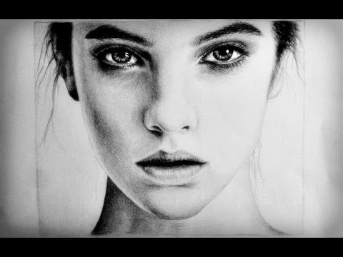Drawing A Realistic Female Face Girl Face Drawing Female Face Drawing Face Drawing