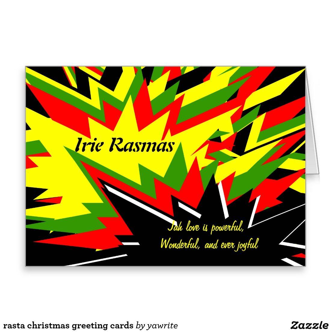Rasta christmas greeting cards christmas gifts pinterest rasta christmas greeting cards m4hsunfo
