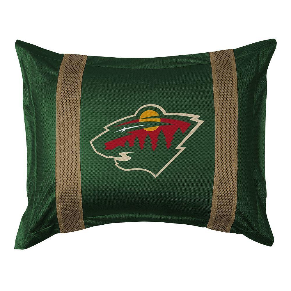 Minnesota Wild Standard Pillow Sham, Green