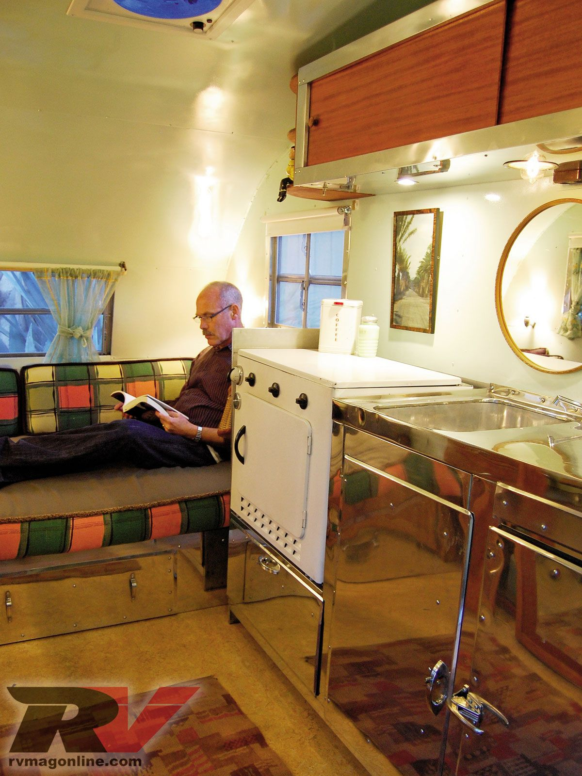 Vintage Travel Trailer Interiors Trailer Tribe
