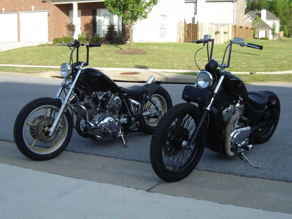 The Mid apes is the other option  Yamaha Virago Bobber Chop