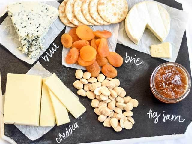 How to make a cute chalkboard cheese tray- and how to load it with the & How to make a cute chalkboard cheese tray- and how to load it with ...