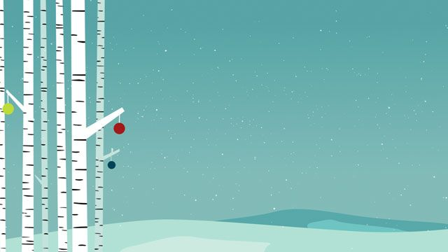 Simple Christmas: Birch 1 Free Background Loop | flyer | Pinterest