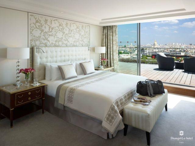 Chambre à coucher inspirée par l\'ambiance « hôtel »