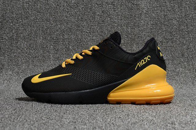 1792140f4563e Nike Air Max Flair 270 KPU Black/Gold Men's Running Shoes in 2019 ...