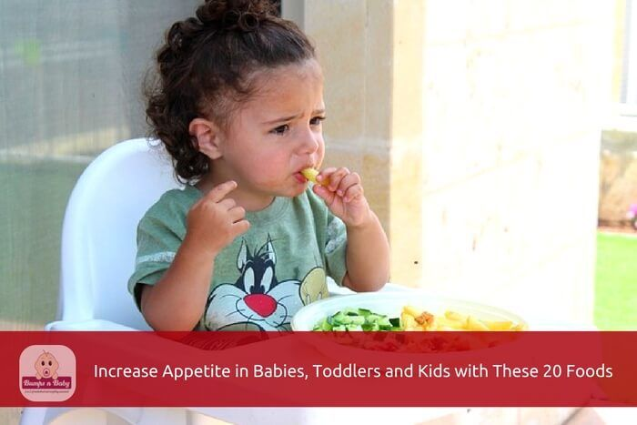 Increase Appetite Naturally in Babies and Kids With These