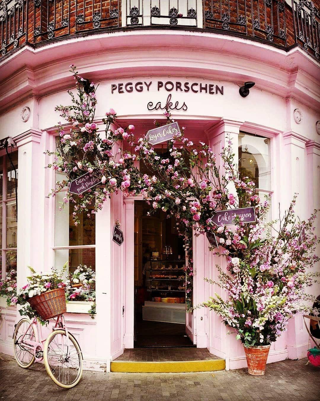 Peggy Porschen Bakery Peggyporschen Bakery London Greatbritain Peggy Porschen Bakery Peggyporschen Bakery Chelsea Flower Show Chelsea Flower Flower Show