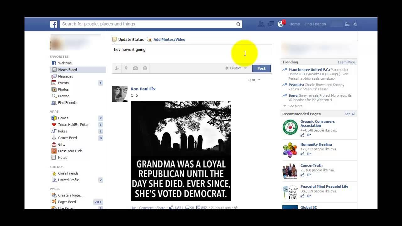 How to hide your likes and posts on facebook from certain