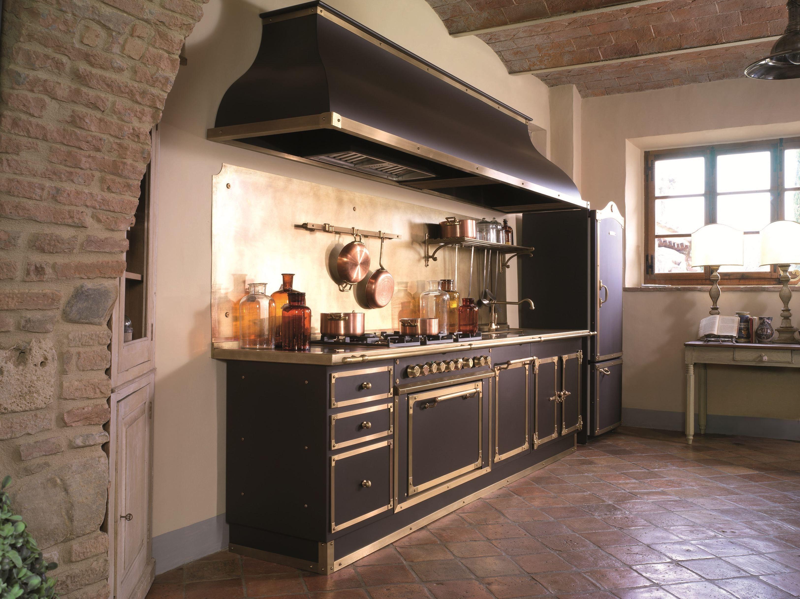 officine+gullo | Cucina lineare su misura ARTIMINO PALACE ...