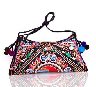 a24c81a187844 National Embroidered Bags Embroidery Unique Shoulder Messenger Bag Vintage  Hmong Ethnic Thai Indian Boho Clutch Handbag 25 style