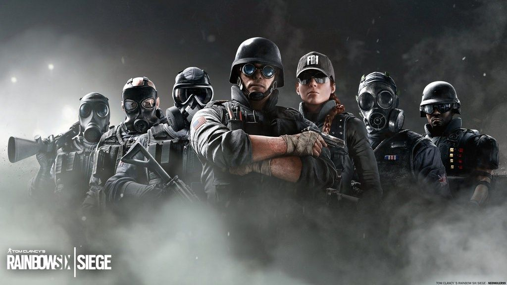 Mobile Tom Clancys Rainbow Six Siege Wallpaper Raduga Igry Mysli