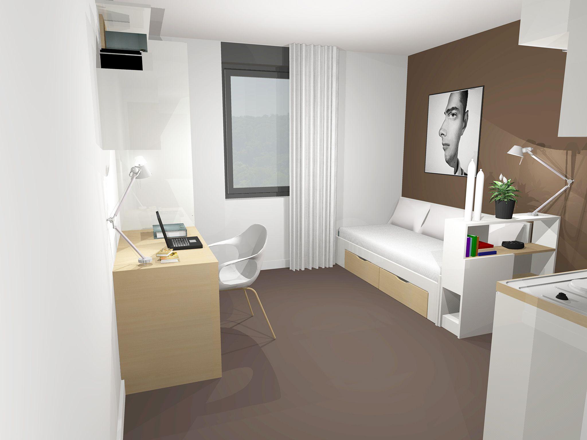 Maison universitaire internationale amitel logements - Logement etudiant strasbourg meuble ...