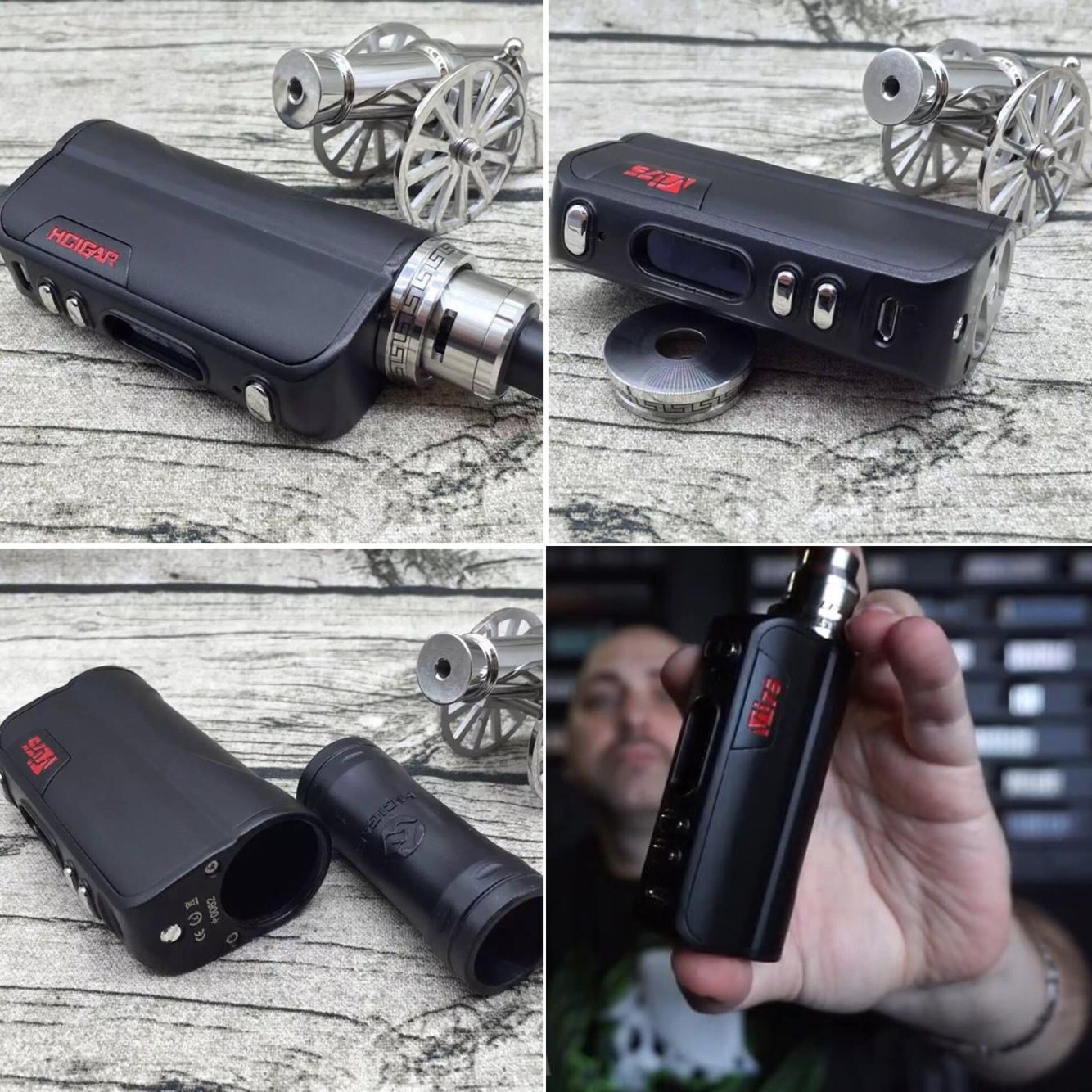 Hcigar Vt75 Evovl Dna75 Hcigar Vt75 Use 26650 18650 Battery Vt75 Vtbox Evolv Vaping Vapepics Vapefam Vapebabes Vape Vape Vape Mods Original Designs