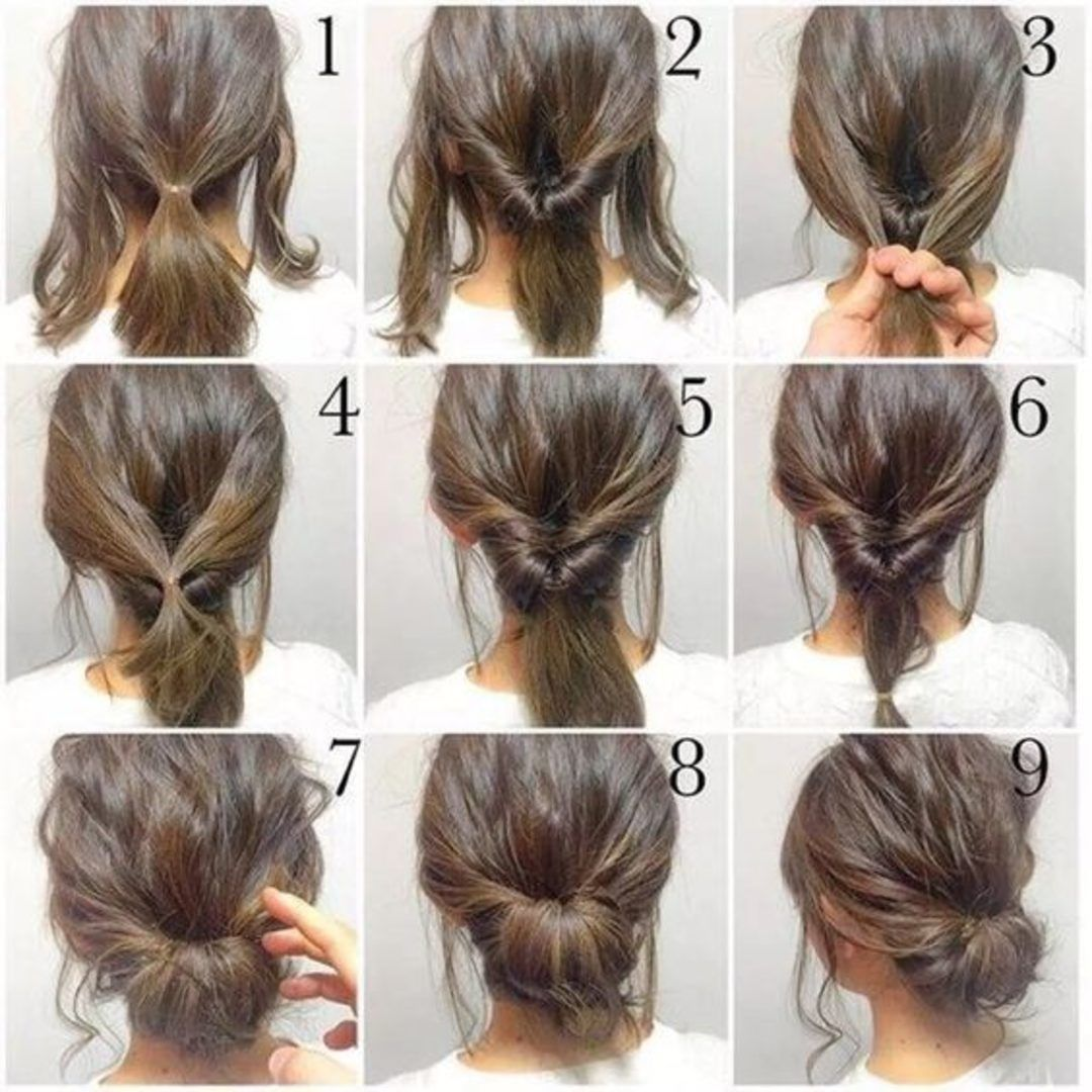 5 Dakikada Yapabileceginiz Hem Sik Hem Pratik 20 Sac Modeli Hair Styles Short Hair Styles Medium Hair Styles