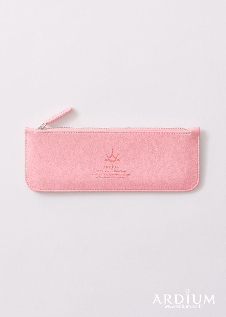 Slim Pencil Case ver.2_pink