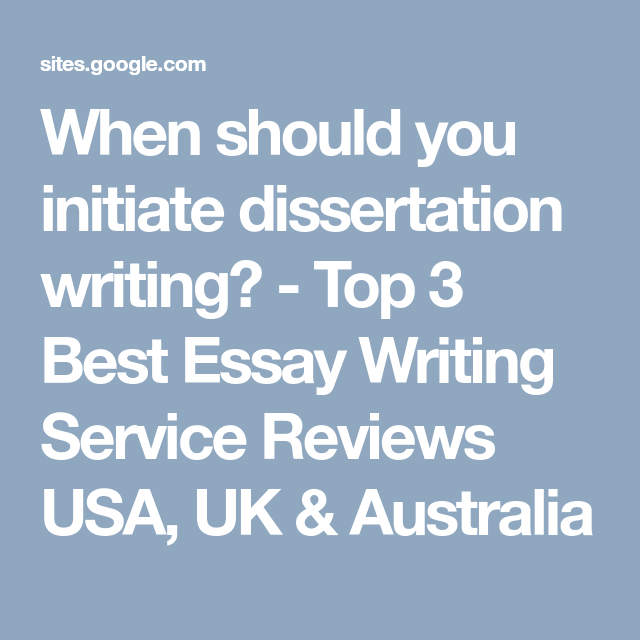 Dissertation writing services usa www essay writing service co uk