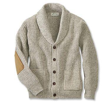 Men's Wool-Blend Shawl Collar Cardigan Sweater   Mens cardigan sweater, Mens  fashion sweaters, Men sweater