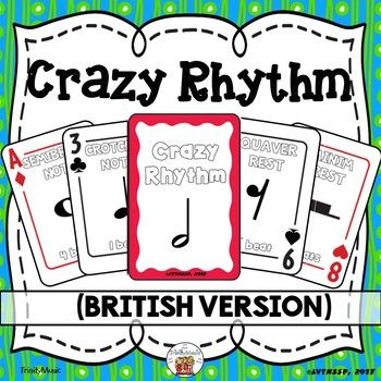 Use This Card Game As A Fun Way To Reinforce Note Rhythm Names And Values Similar To The Childhood Game Of Crazy Eight Card Games Crazy Eights Childhood Games