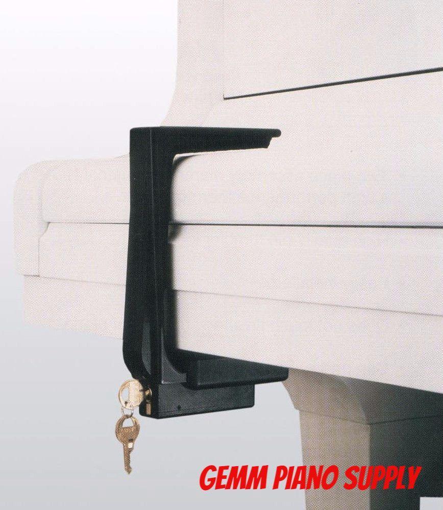 Lucite Fallboard Lock Piano, Grand piano, Lock