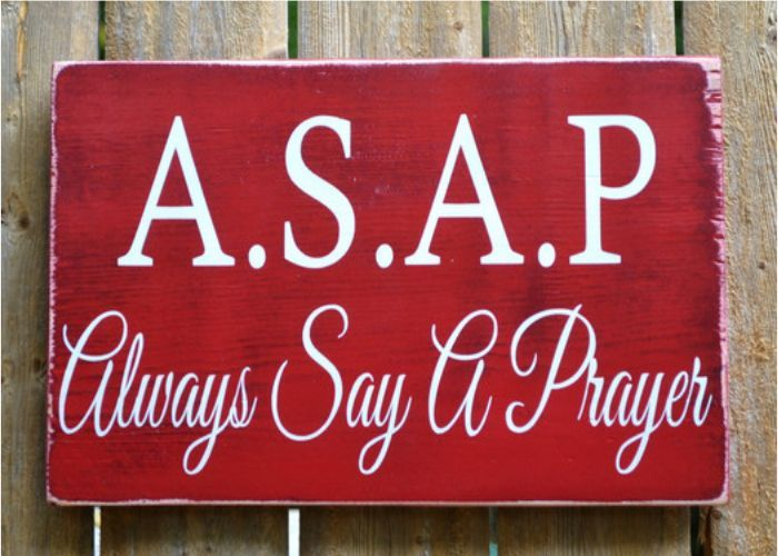 Rustic Wood Sign Religious Gift Scripture Prayer Signs