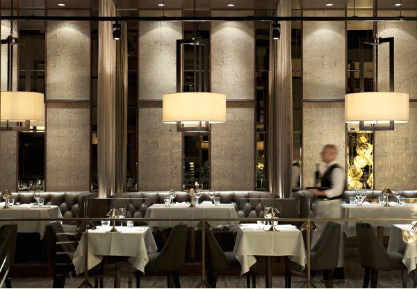 Black Blue Steakhouse Vancouver British Columbia Canada Box Interior Design Bar
