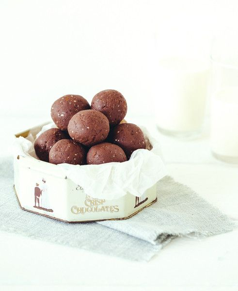 Chocolate Chia Protein Ball Mix Protein Ball Natural Chocolate Almond Recipes