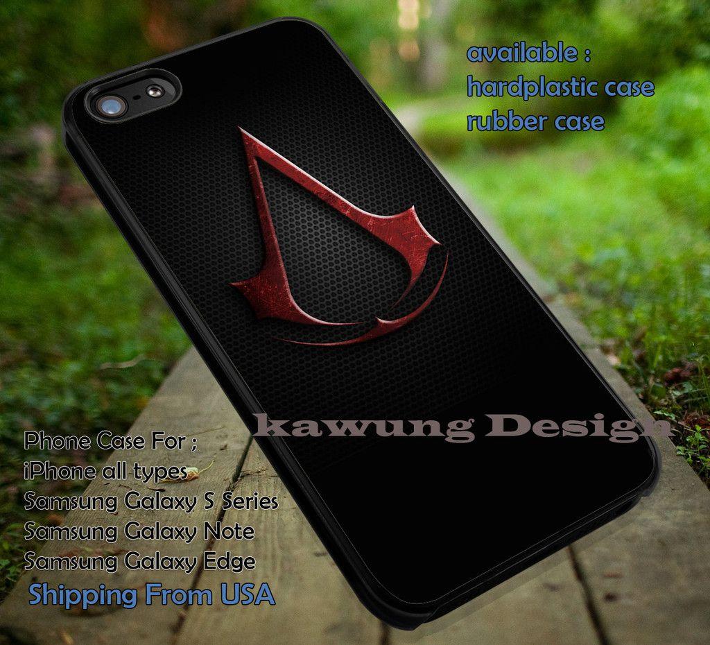 Assassin Creed Logo iPhone 6s 6 6s 6plus Cases Samsung