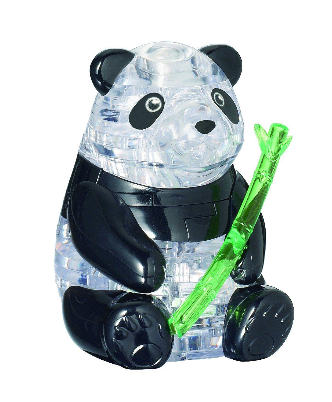 Amazon Com Original 3d Crystal Puzzle Panda Toys Games 3d Crystal Panda 3d 3d Puzzles
