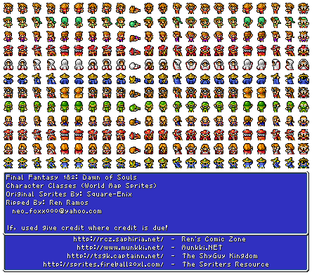 Final fantasy 1 characters hero characters world map stitches final fantasy 1 characters hero characters world map gumiabroncs Choice Image