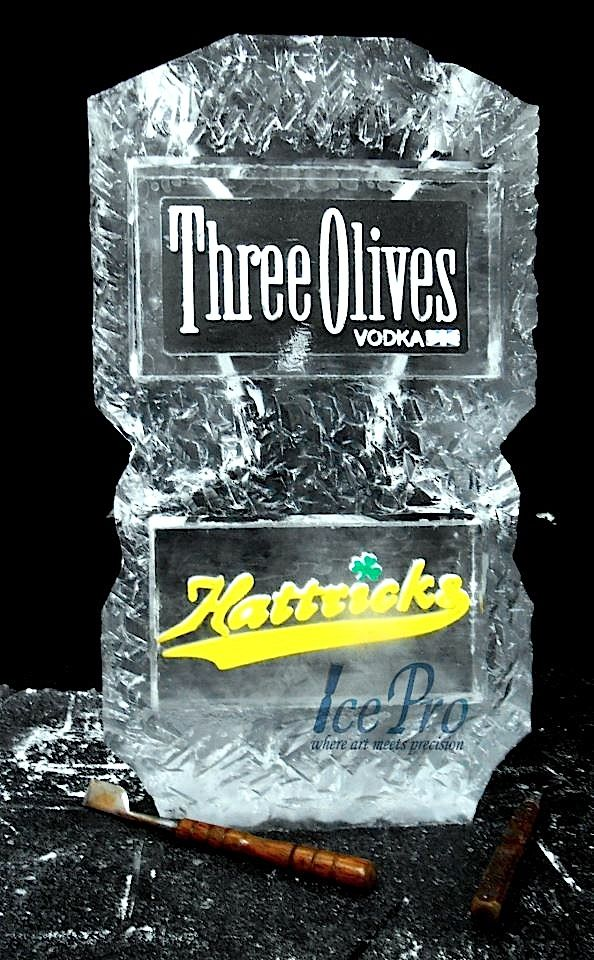 Three Olives - double track ice luge.