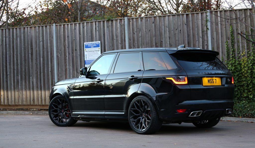 2019 Range Rover Sport Svr Gets New Vossen Forged S17 01 Wheels Prestige Wheel Centre News Range Rover Sport Range Rover Supercharged Range Rover