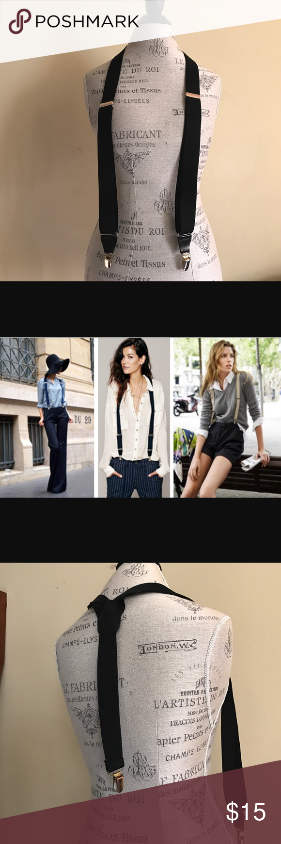 Suspenders A classy touch to your trousers! Accessories