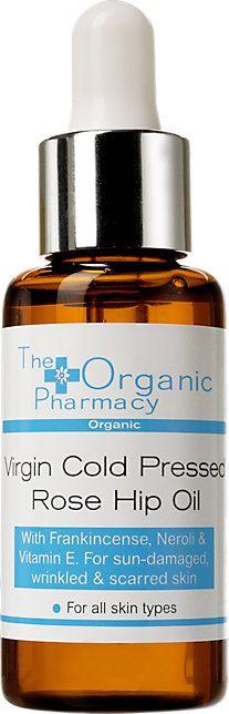 The Organic Pharmacy Virgin Cold Pressed Rose Hip Oil 30ml at Barneys.com | The  organic pharmacy, Rosehip oil, Organic skin care