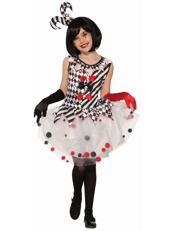 Harlequin Clown Costume Cheap halloween costumes, Clown