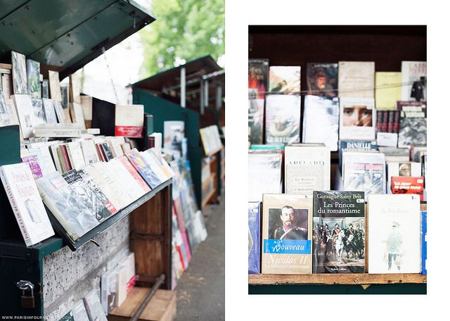 """Bouquinistes"" Along the Seine"