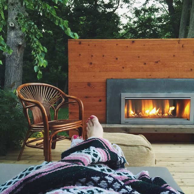 Instagram Hashtags You Need To Know   Modern outdoor ... on Modern Backyard Fireplace id=81724