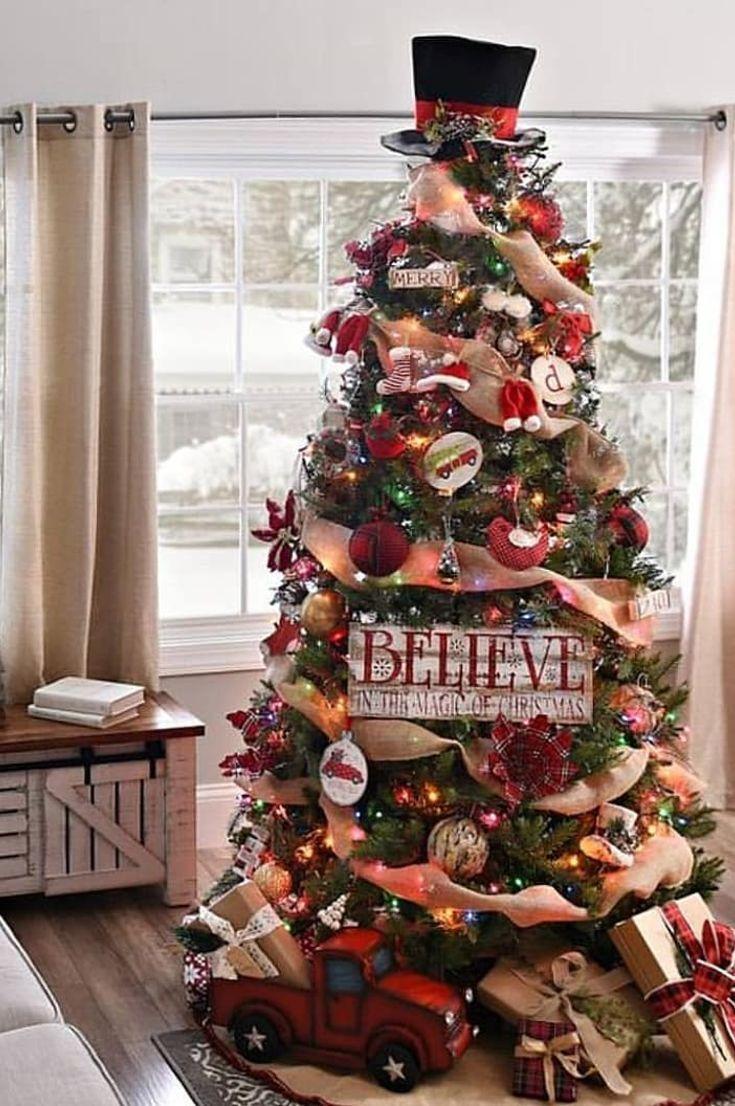 30+ Gorgeous Christmas Tree Decoration Idea You Sh