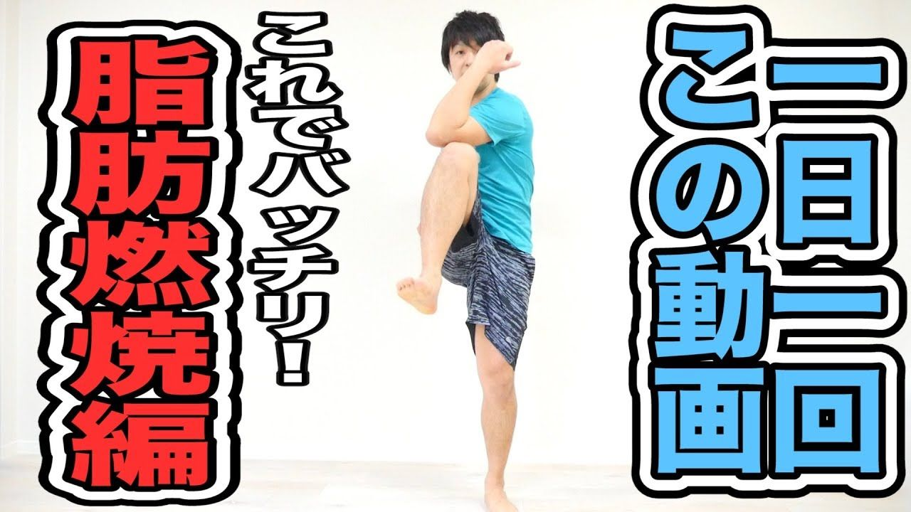 一日一回この動画 脂肪燃焼エクササイズはこれで決まり 初級編 Youtube ダイエット ダンス 脂肪燃焼トレーニング トレーニング