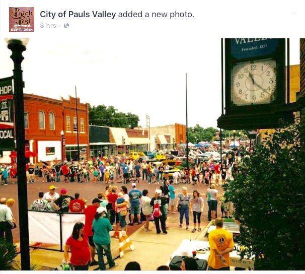 Pauls Valley, Oklahoma