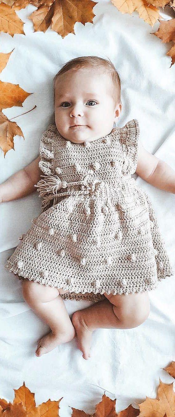 Photo of 35 Free Precious Crochet Newborn Dress Patterns 2019 – Page 29 of 36 – stunnerwoman. com