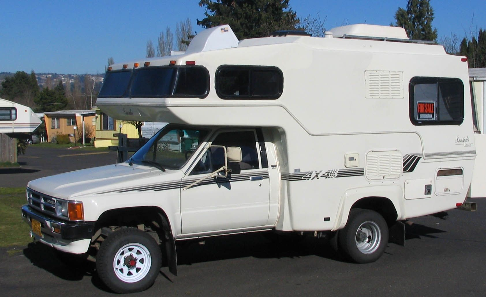 Toyota 4x4 Motorhome Recreation Vehicles Pinterest Rv Plumbing Diagram Have A 1987 17 Bigfoot Travel Trailer