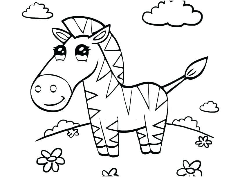 Baby Animal Coloring Pages Best Coloring Pages For Kids Unicorn Coloring Pages Zebra Coloring Pages Animal Coloring Pages