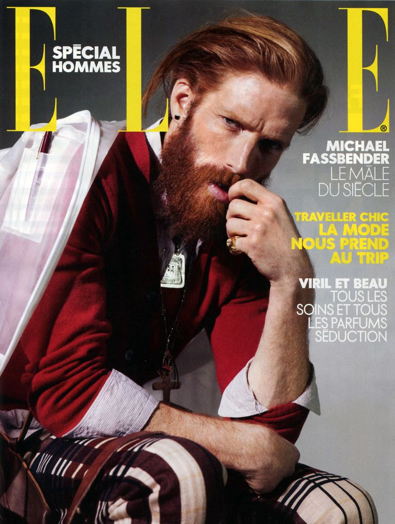 johnny2 Johnny Harrington by Nicolas Valois for Elle France. These are all great outfits he's wearing on the cover and through the editorial. Very well styled.