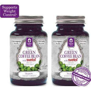 green coffee bean extract with gca and 45 chlorogenic acid