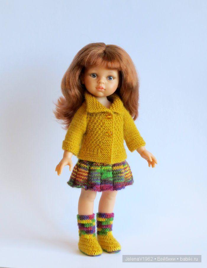 Осенние фантазии. Игровые куклы Paola Reina. Одежда своими ...