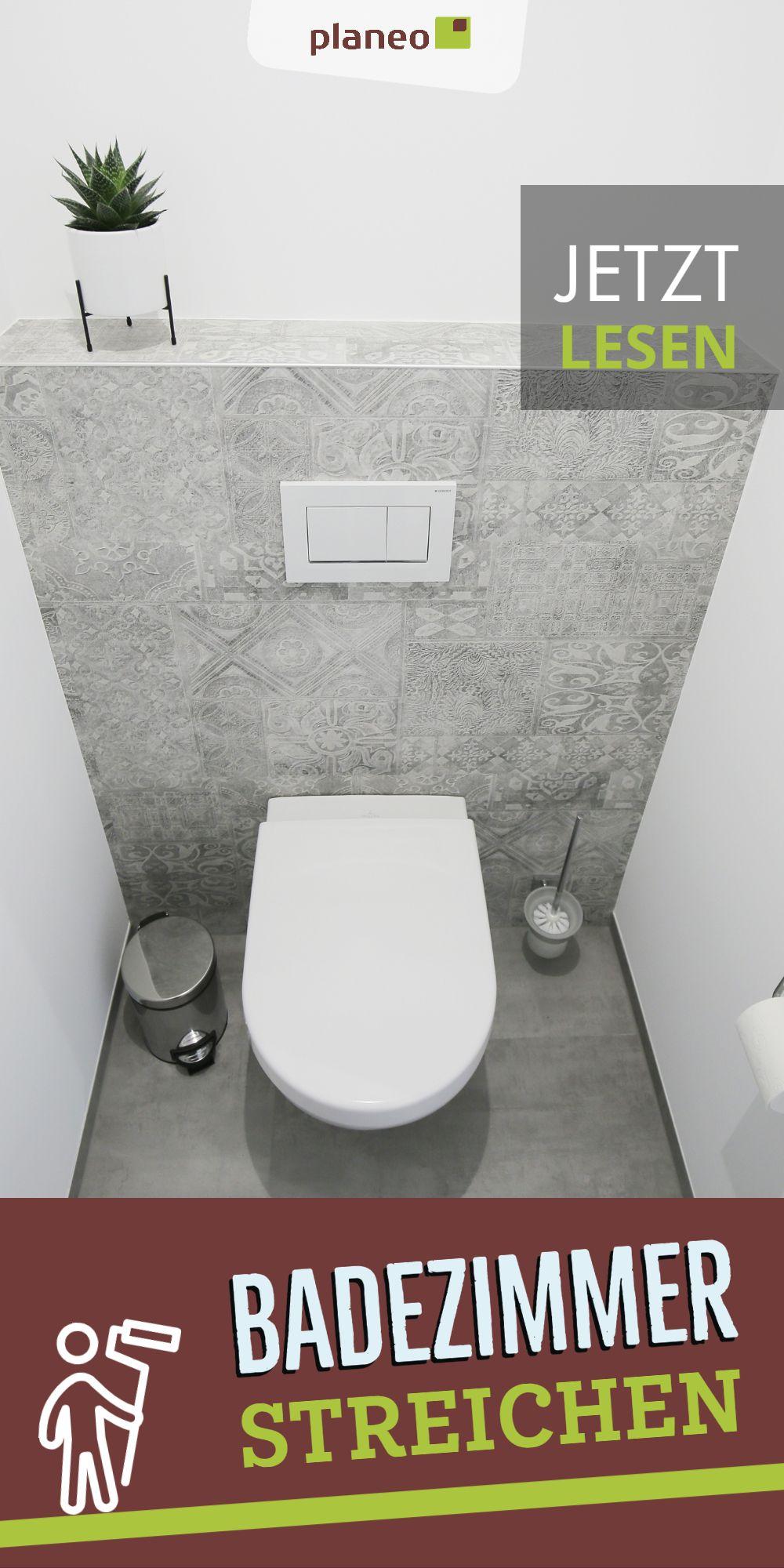 Badezimmer Streichen Welche Farbe Soll Man Nehmen Dispersionsfarbe Latexfarbe Silikatfarbe In 2020 Badezimmer Streichen Latexfarbe Badezimmer