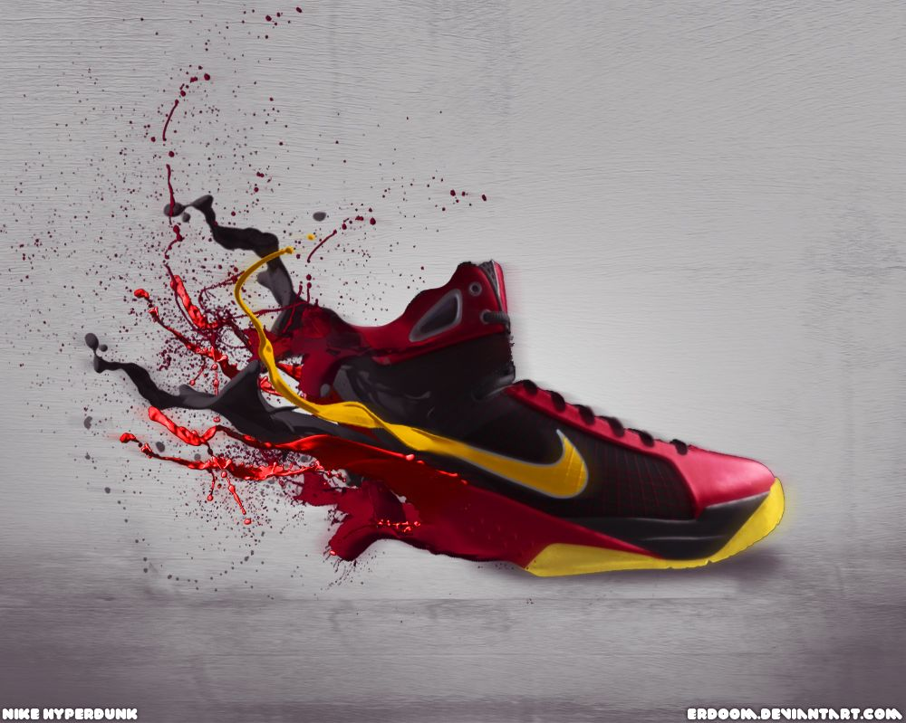 Nike HyperDunk Shoes Manipulation