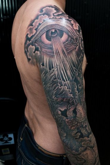 Revelations sleeve tattoos pinterest tattoo for Can fbi agents have tattoos