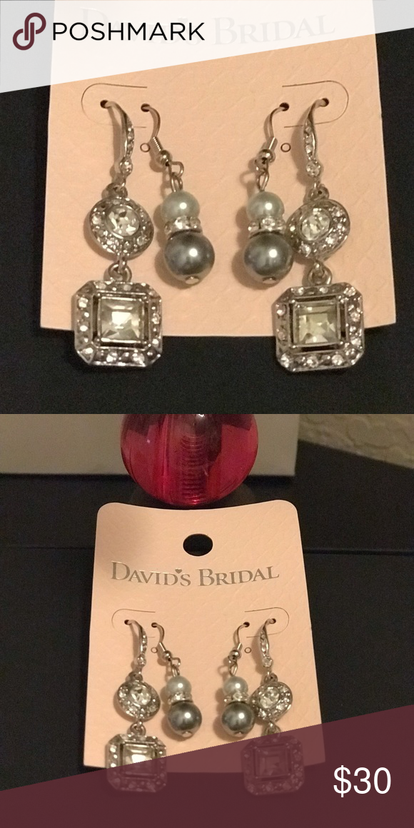 baa4e6d36bc David's Bridel earrings bundle 📌Bundle to Save more Brand new David's  Bridal earrings, perfect for special occasion. Both pairs of earrings for  $20 or each ...