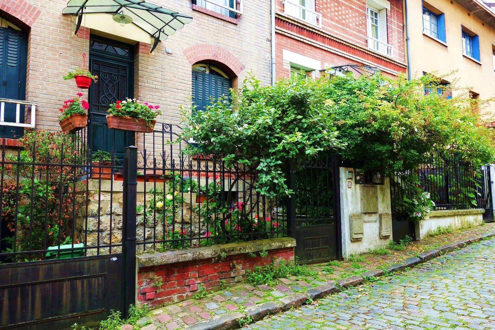 Paris : L'insolite square Montsouris, verdoyante allée résidentielle - XIVème | Paris la douce